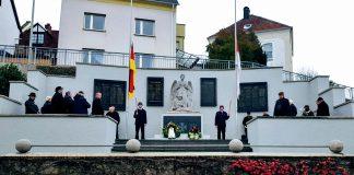 Gedenkveranstaltung Volkstrauertrag 2019 am Eisenbacher Ehrenmal